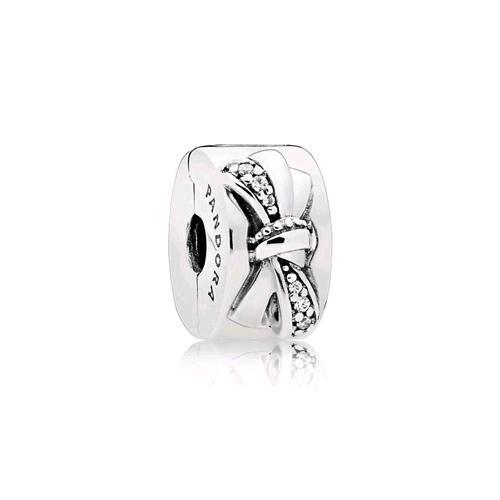 anello pandora fiocco argento