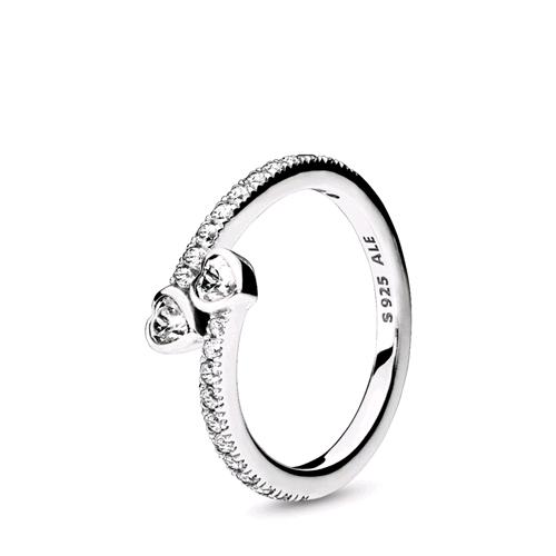 pandora anelli con cuori
