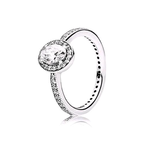 anello pandora in argento a forma di tiara
