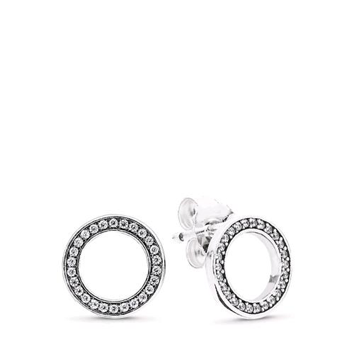 orecchini d'argento pandora
