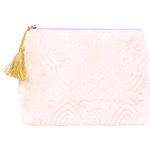 MATHILDE M. TROUSSE IN VELLUTO ROSA PICCOLA MBTRTRVE0001
