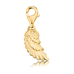 ENGELSRUFER CHARM WING ARGENTO 925 DORATO ERC-WING-G